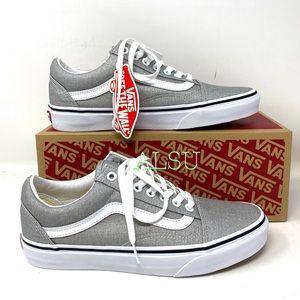 VANS Old Skool Canvas Silver Grey Women's Sneakers